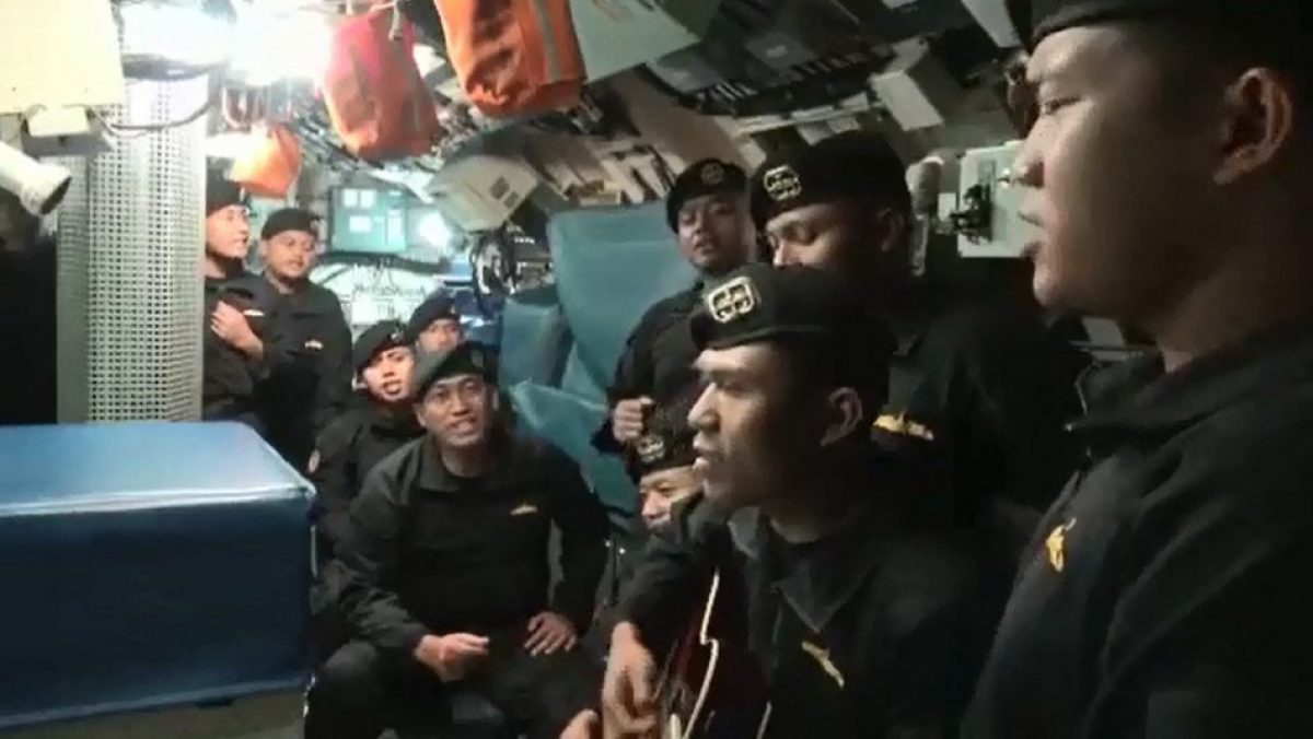 Se viraliza el ultimo video de los marineros muertos en submarino en Indonesia