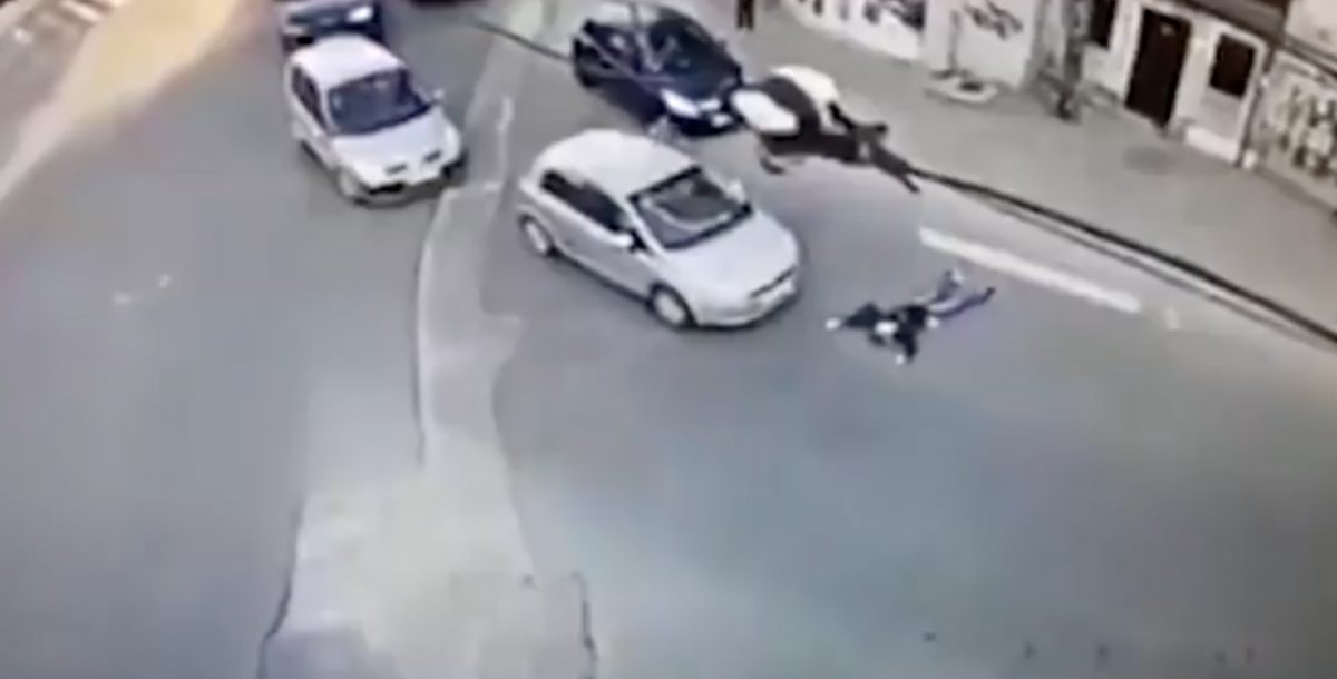 Mujer fingió atropello para intentar cobrar un seguro