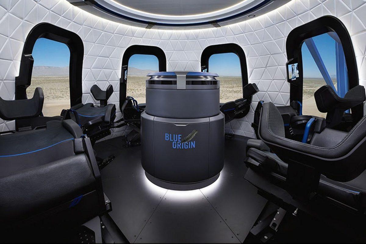 Blue Origin subastará el primer pasaje para viajar en su cohete