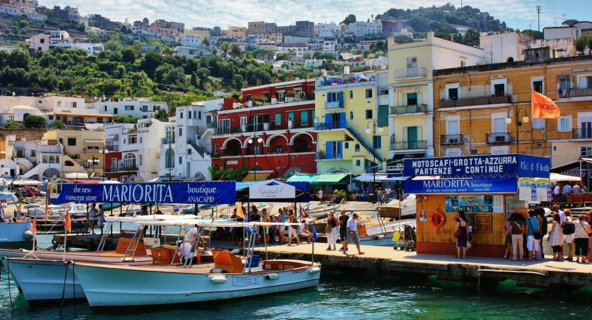 Capri el lugar en Italia que está libre de Covid-19