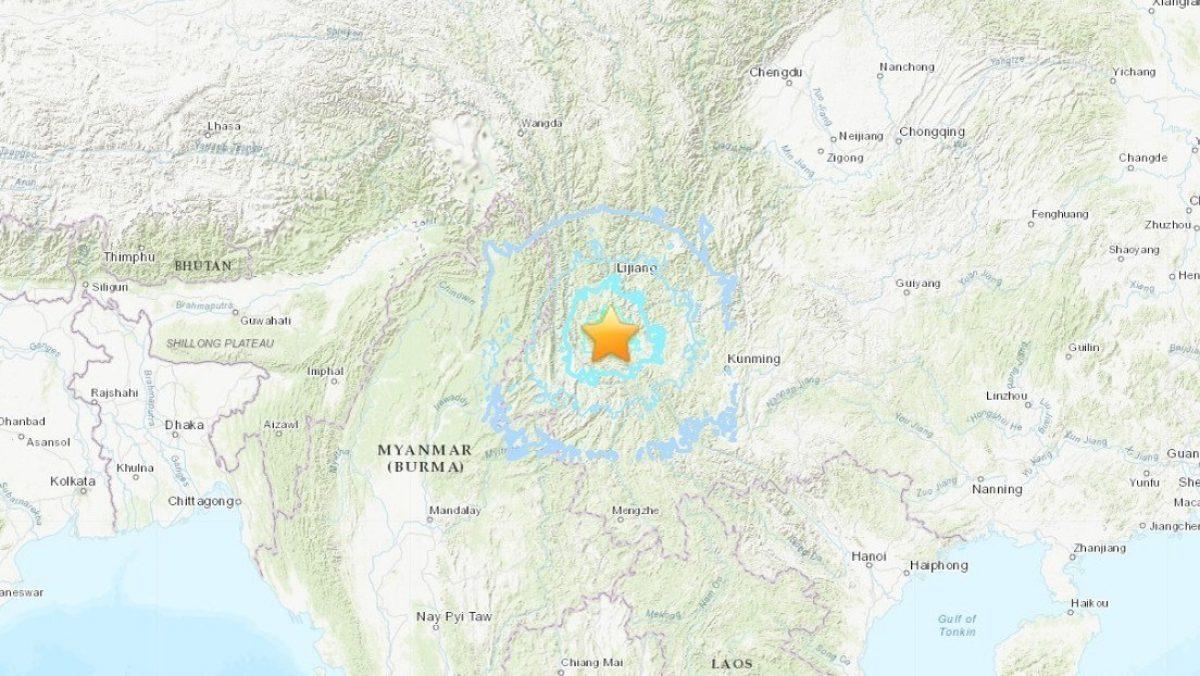 Se registra en China un terremoto de magnitud 6,4