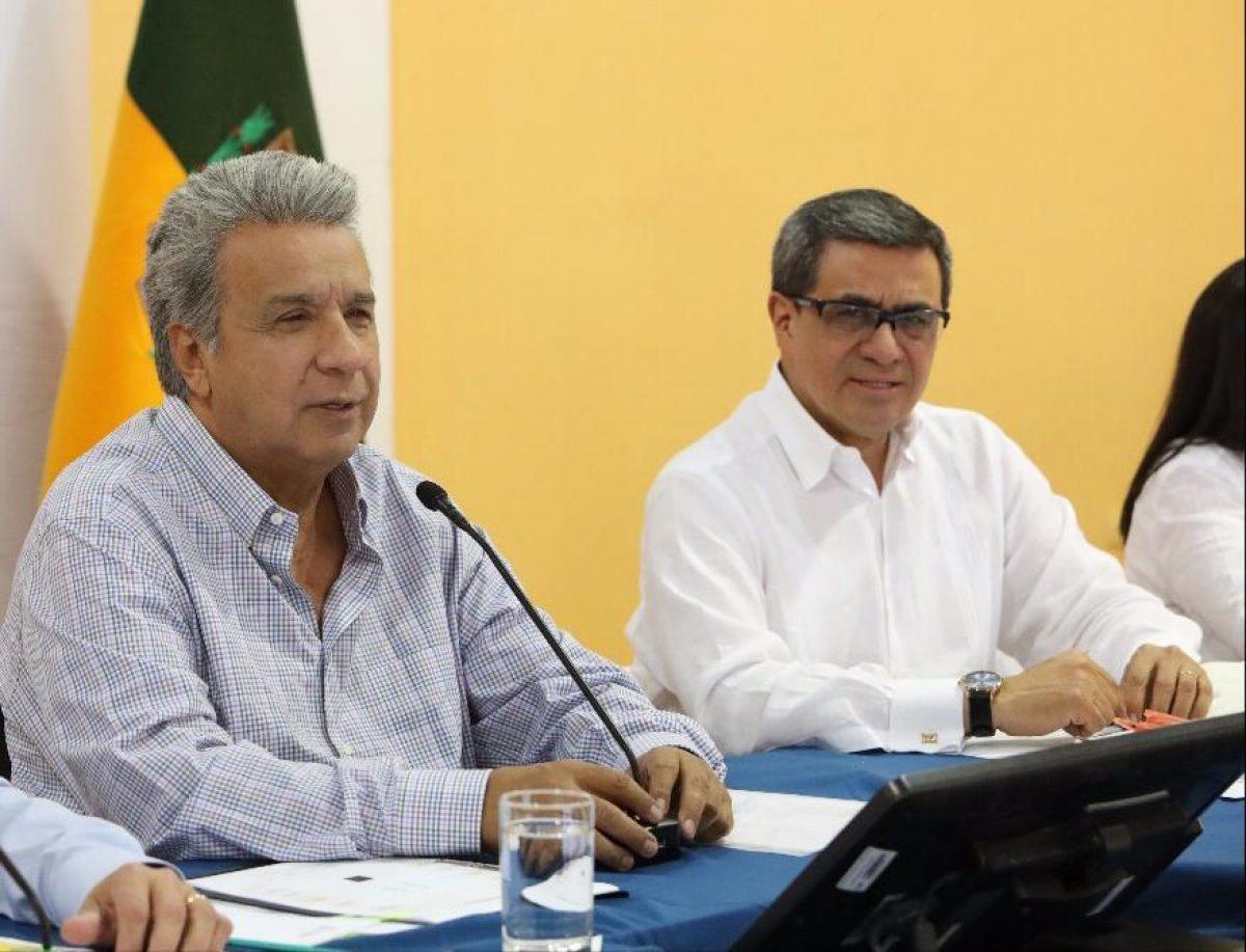 Presidente Lenín Moreno se pronuncia por la muerta de José A. Briones