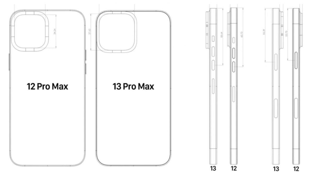 Así sería el nuevo móvil de Appel, el iPhone 13