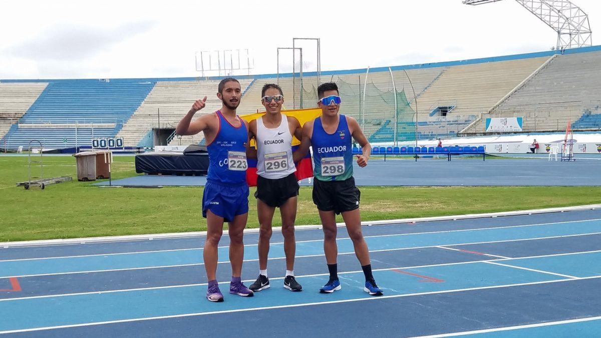 Andrés Chocho gana medalla de oro en el Campeonato Sudamericano de Atletismo