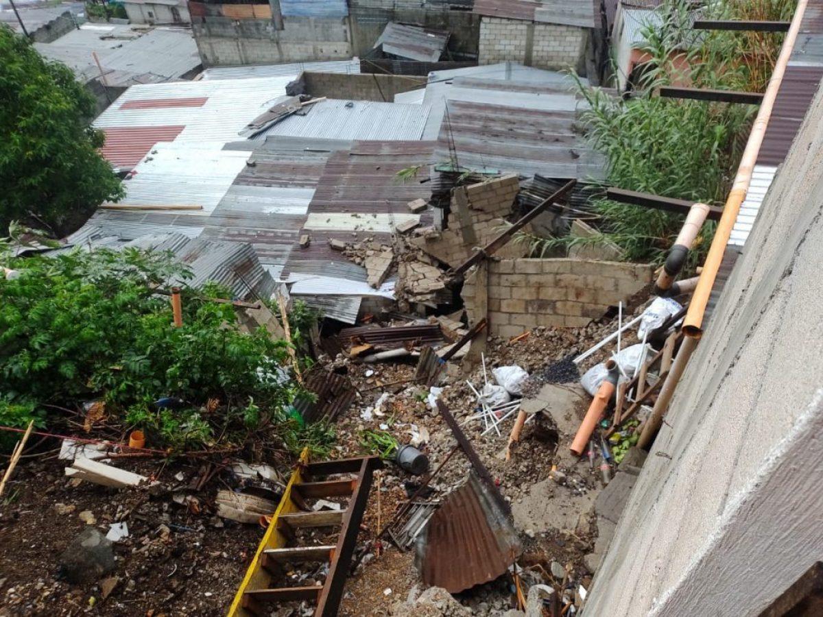 Lluvias causan estragos y dejan más de 13.000 afectados en Guatemala
