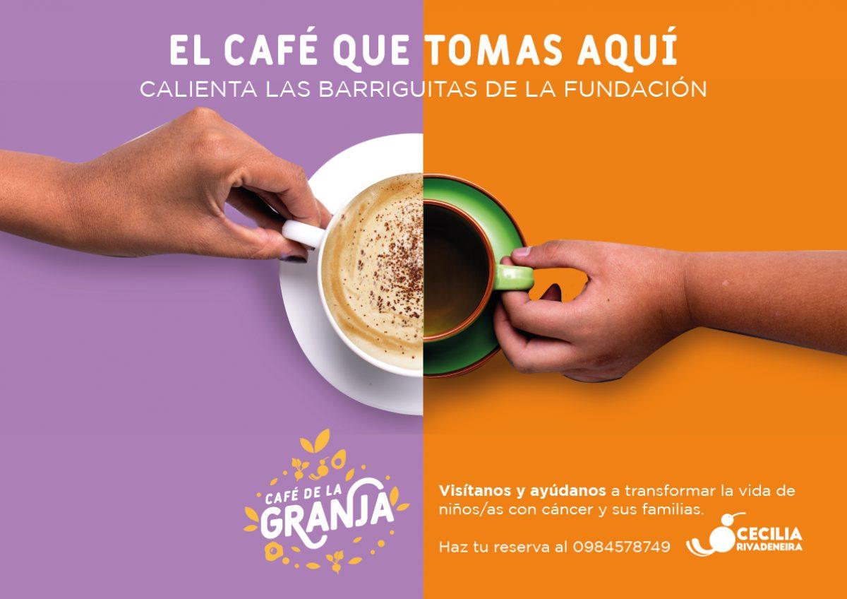 El Café de la Granja: un espacio para disfrutar y ayudar en familia