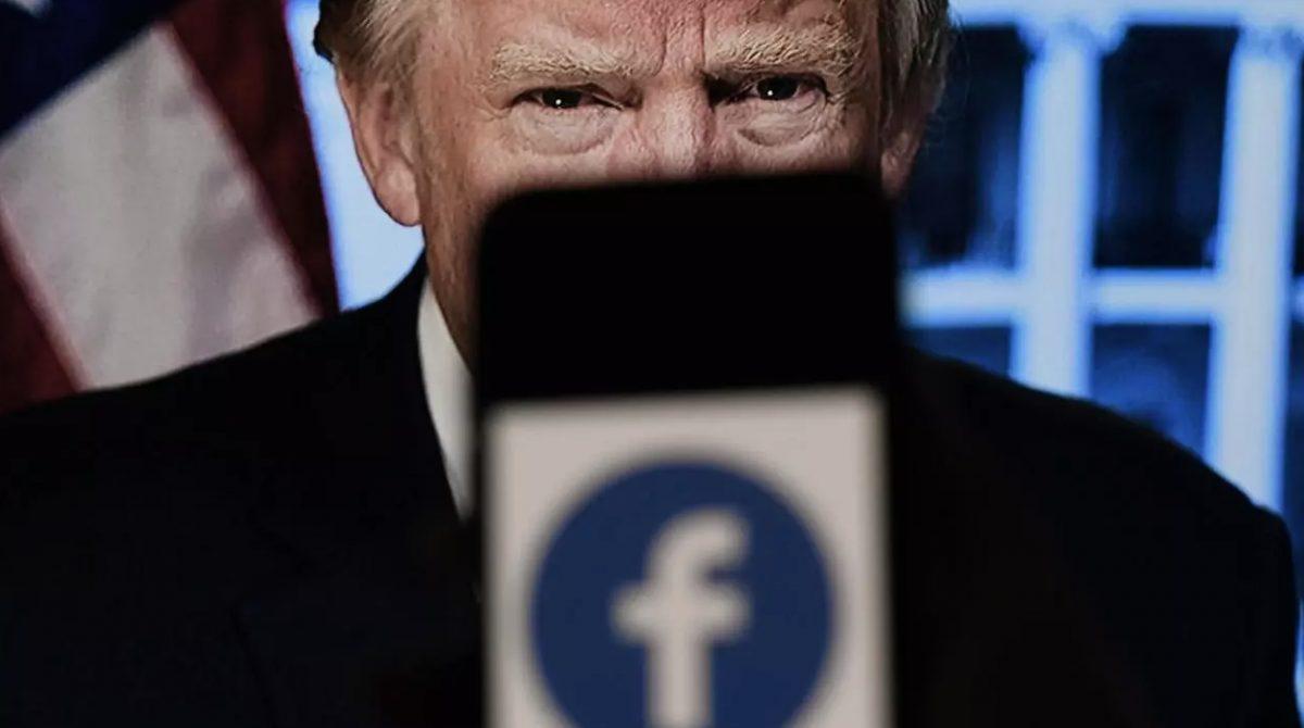 Facebook veta a Donald Trump por dos años