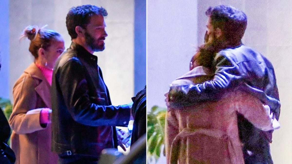 Ben Affleck y Jennifer López en su primera aparición pública como pareja