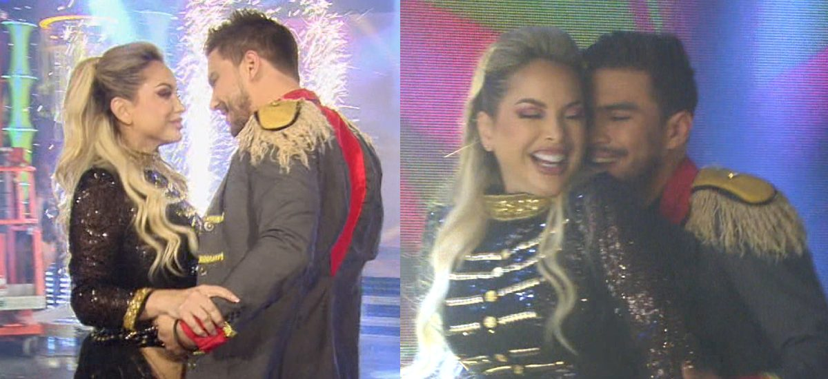 Erika Vélez y Carlos Scavone bailaron juntos en Soy El Mejor