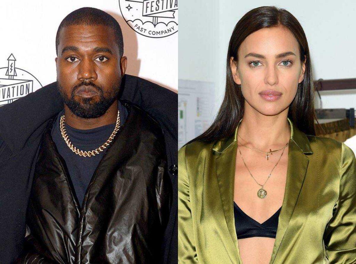 Las primeras fotos de Kanye West e Irina Shayk juntos