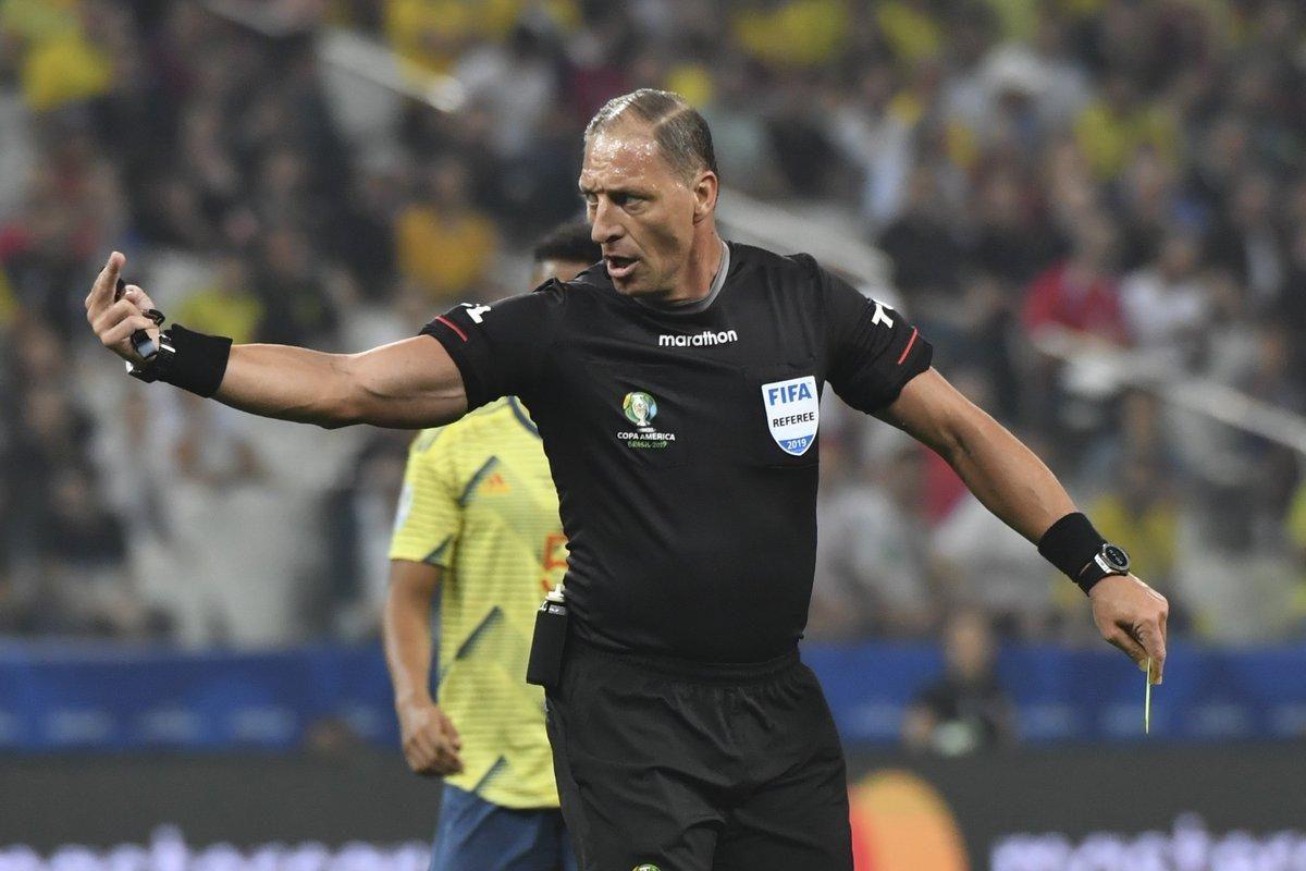 Néstor Pitana será el árbitro de Colombia vs Ecuador