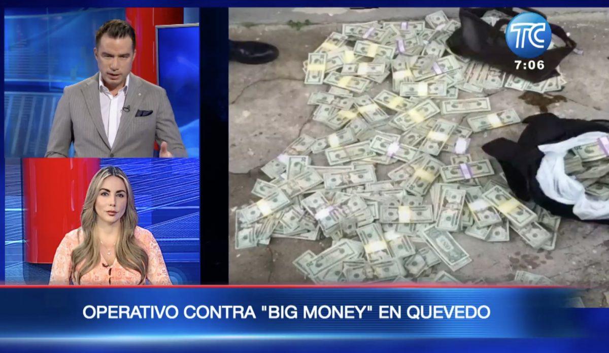 "Operativo contra ""Big Money"" en Quevedo"