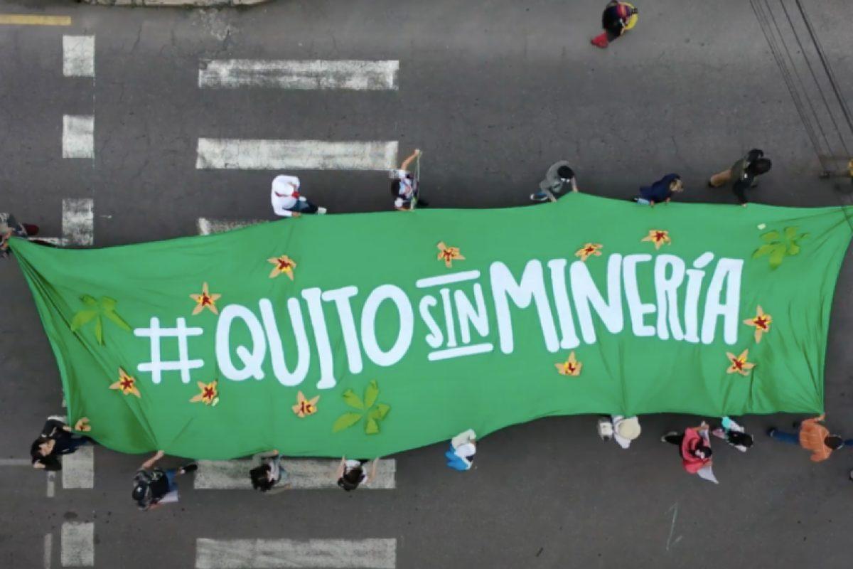 Corte Constitucional niega consulta popular minera metálica para Quito