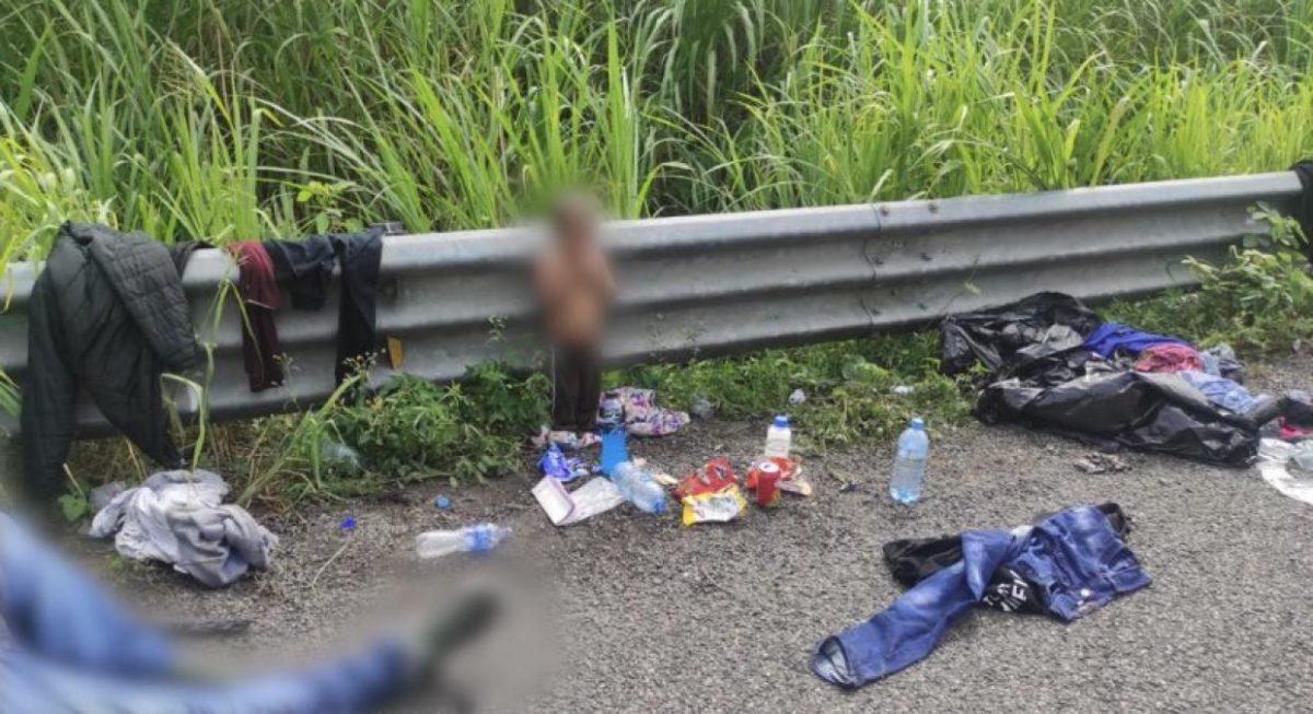 La historia del niño migrante que fue hallado solo y semidesnudo en una carretera