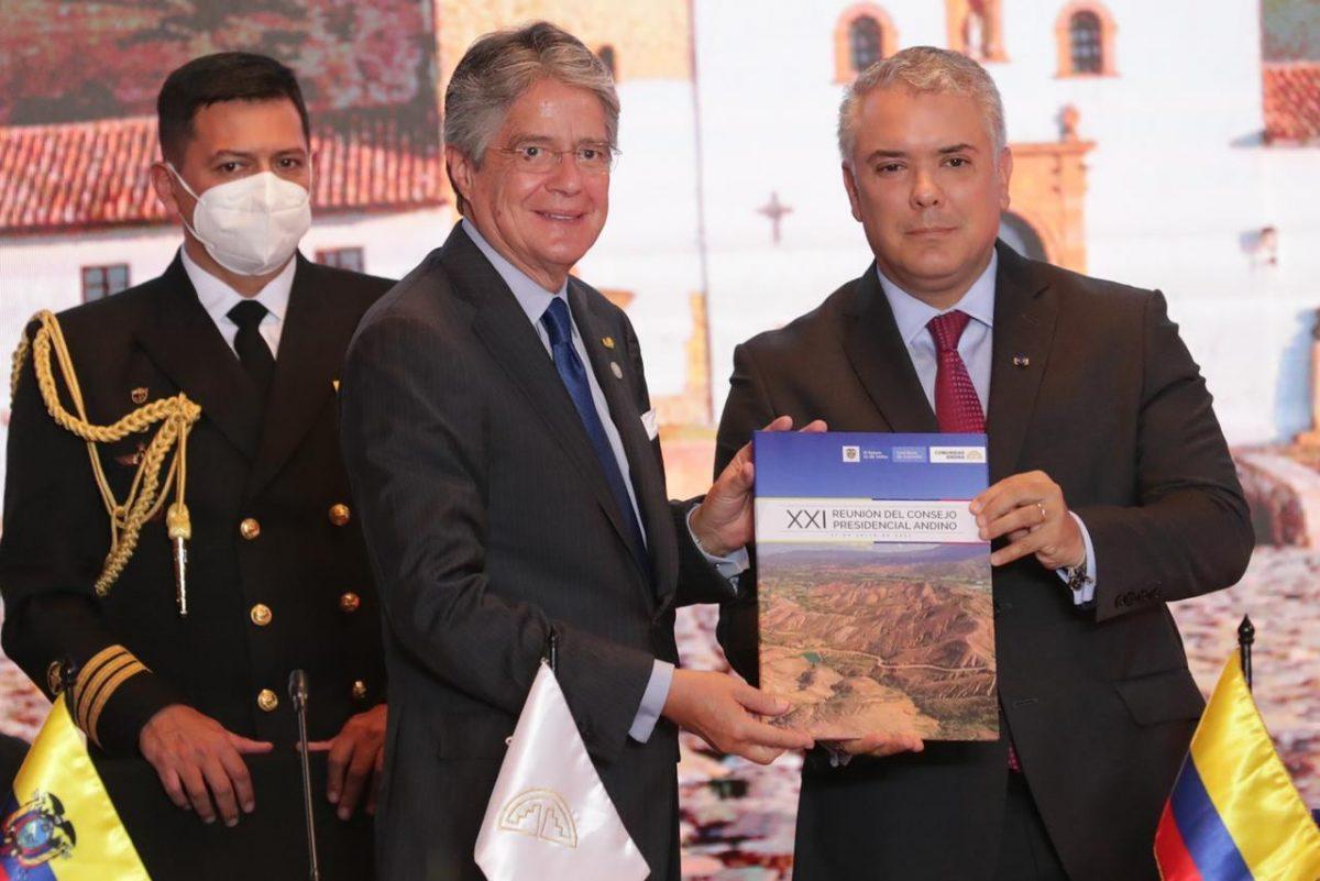 Guillermo Lasso se posesiona como presidente pro témpore de la CAN