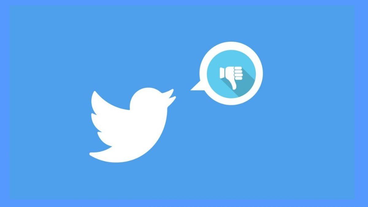 Twitter prueba una especie de botón de 'no me gusta'