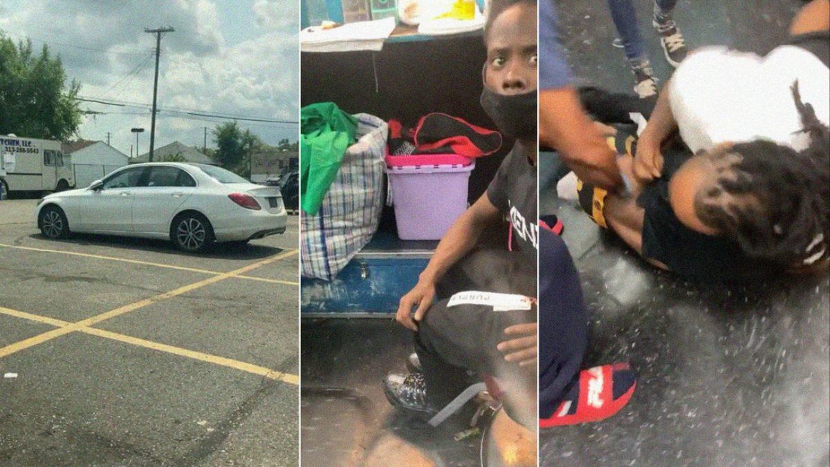 Rastrea su carro robado y encuentra al delincuente en una barbería