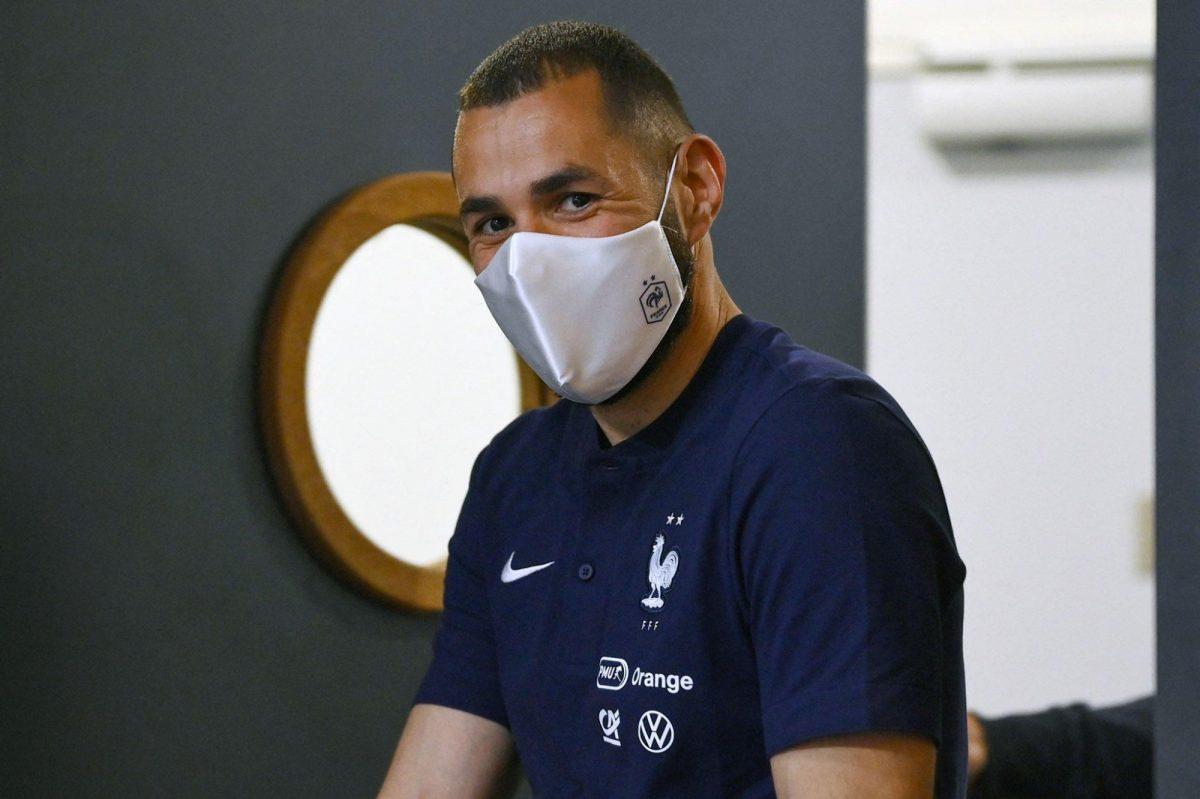 Karim Benzema dio positivo para covid-19