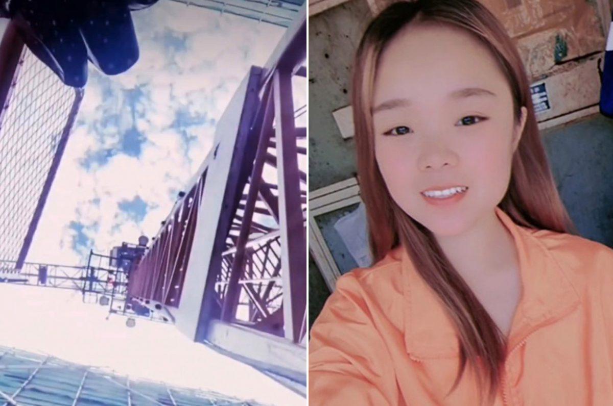 Una joven murió tras caer de una torre de 50 metros en China