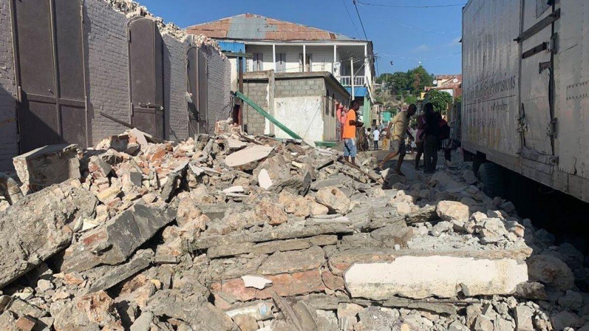 Gobierno de Haití anuncia primeros números de fallecidos en terremoto