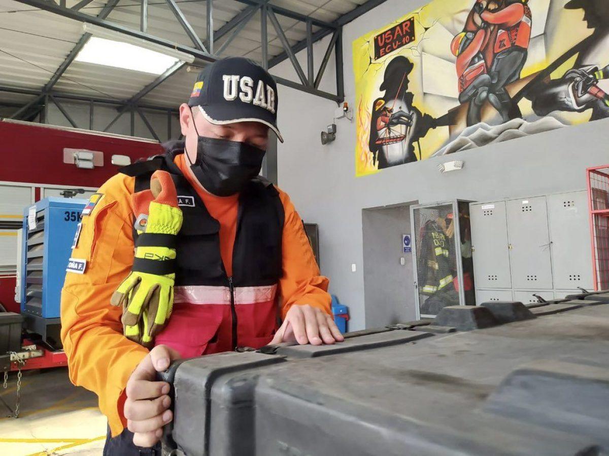 Alcalde de Quito pone a disposición a bomberos para emergencia en Haití