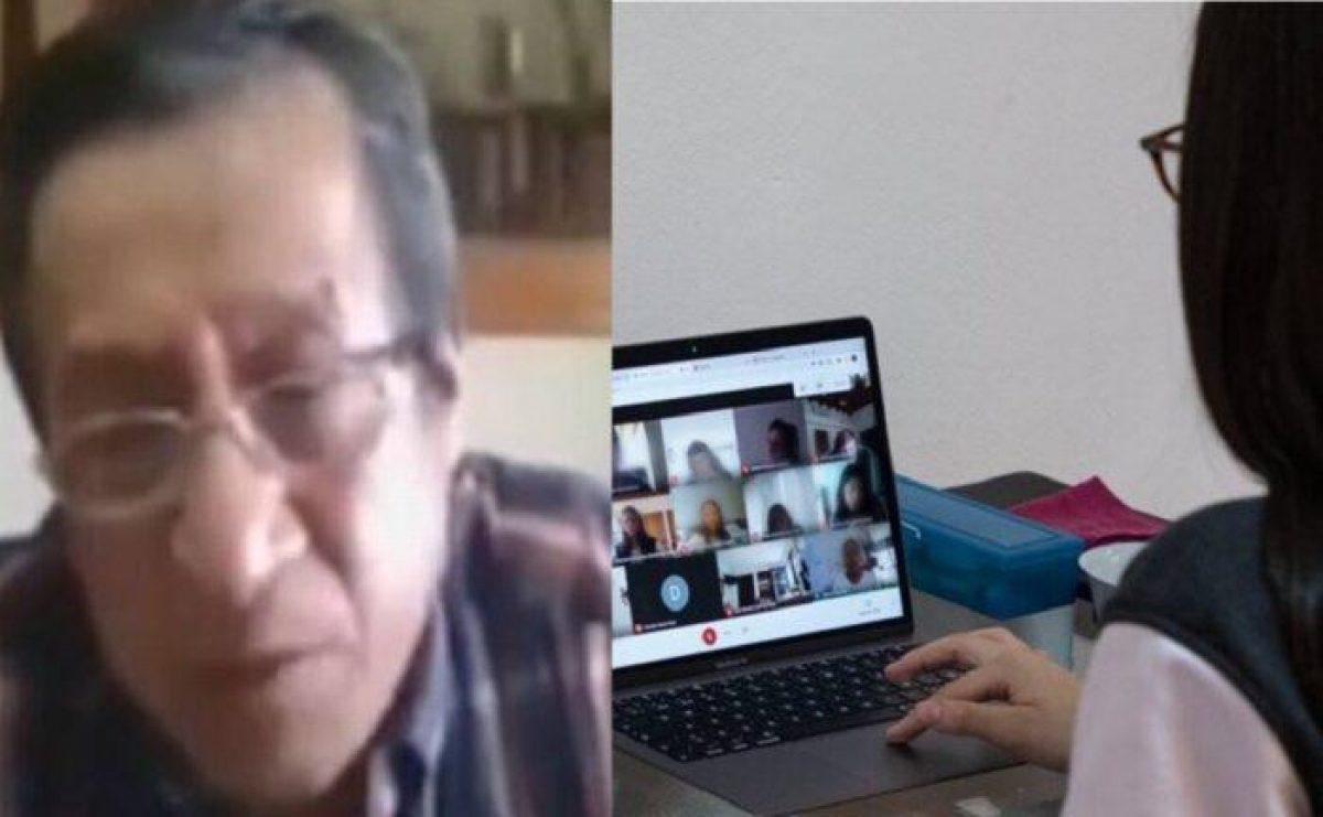 VIDEO | Profesor insultó a estudiante en medio de una clase virtual