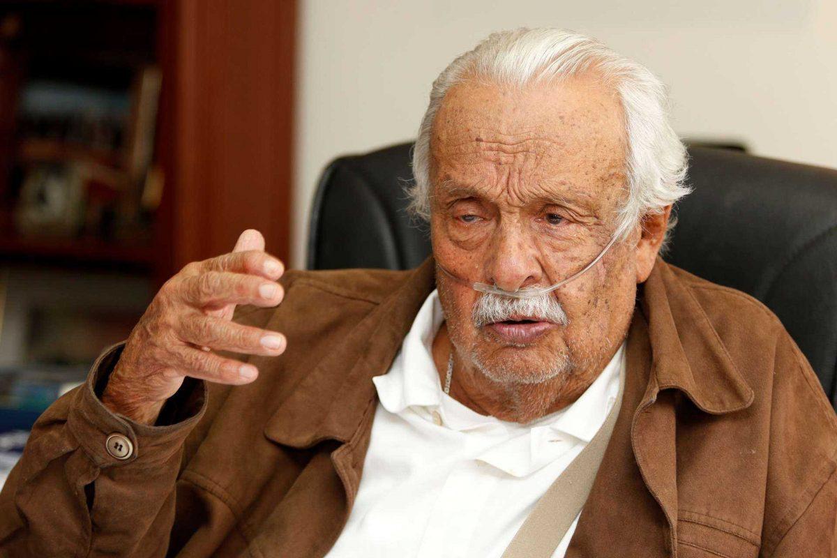 Falleció Rodrigo Paz Delgado, el expresidente de Liga de Quito