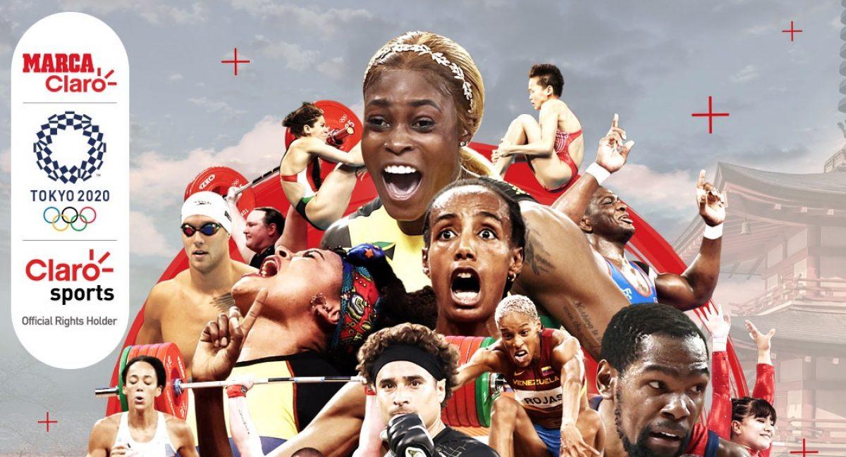 Claro Sports y Marca Claro, los preferidos para ver los Juegos Olímpicos Tokyo 2020
