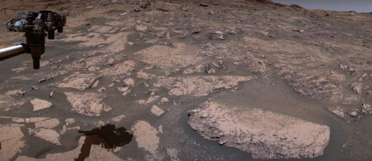 La NASA comparte vistas panorámicas de Marte grabadas por el Curiosity