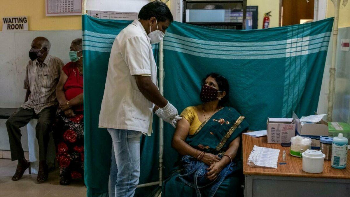 India vacuna contra el covid-19 a 10 millones de personas en un solo día