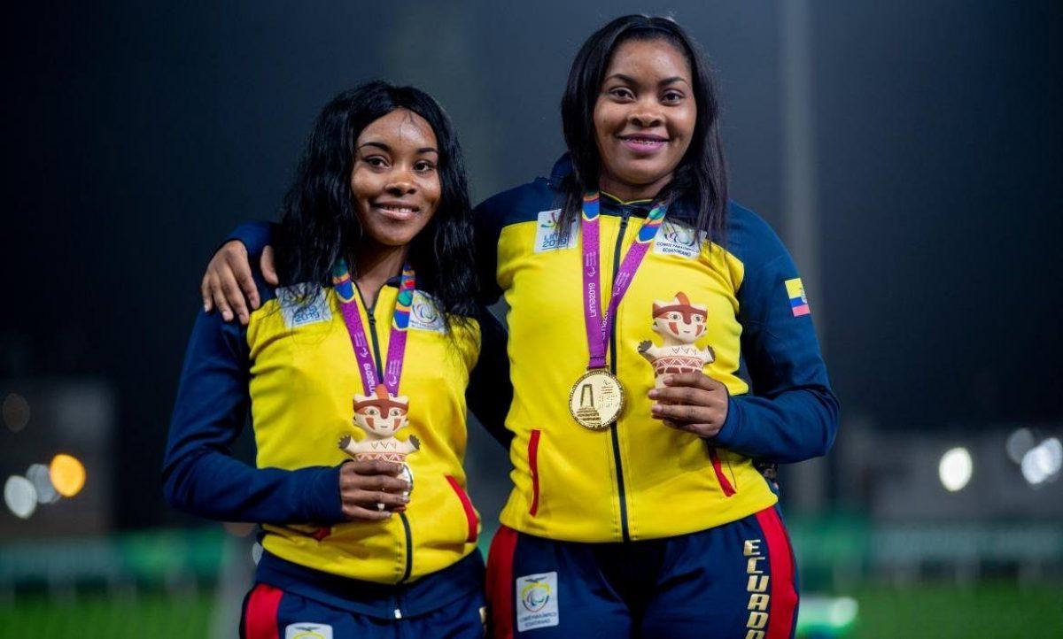 Juegos Paralímpicos: Poleth Méndes y Anaís Méndez ganan medallas para Ecuador