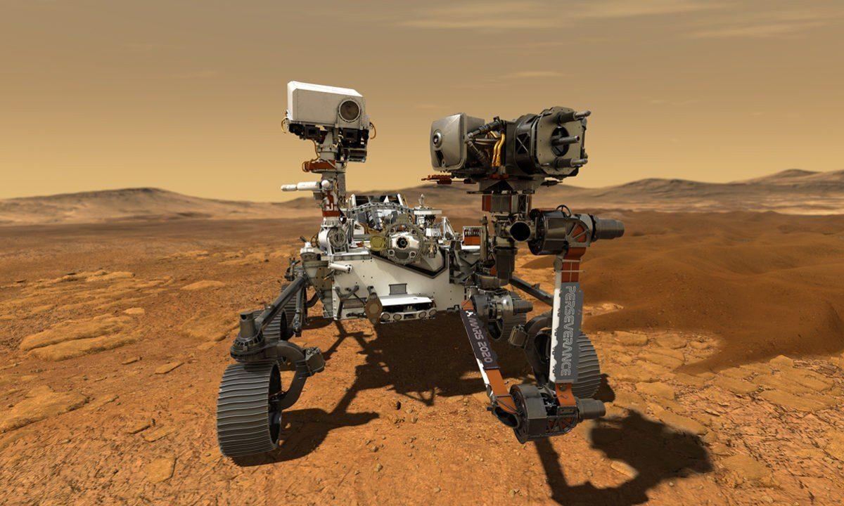 NASA confirma que el rover Perseverance obtuvo fragmento de roca de Marte