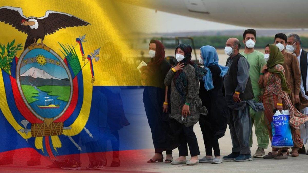 Ecuador recibirá refugiados de Afganistán