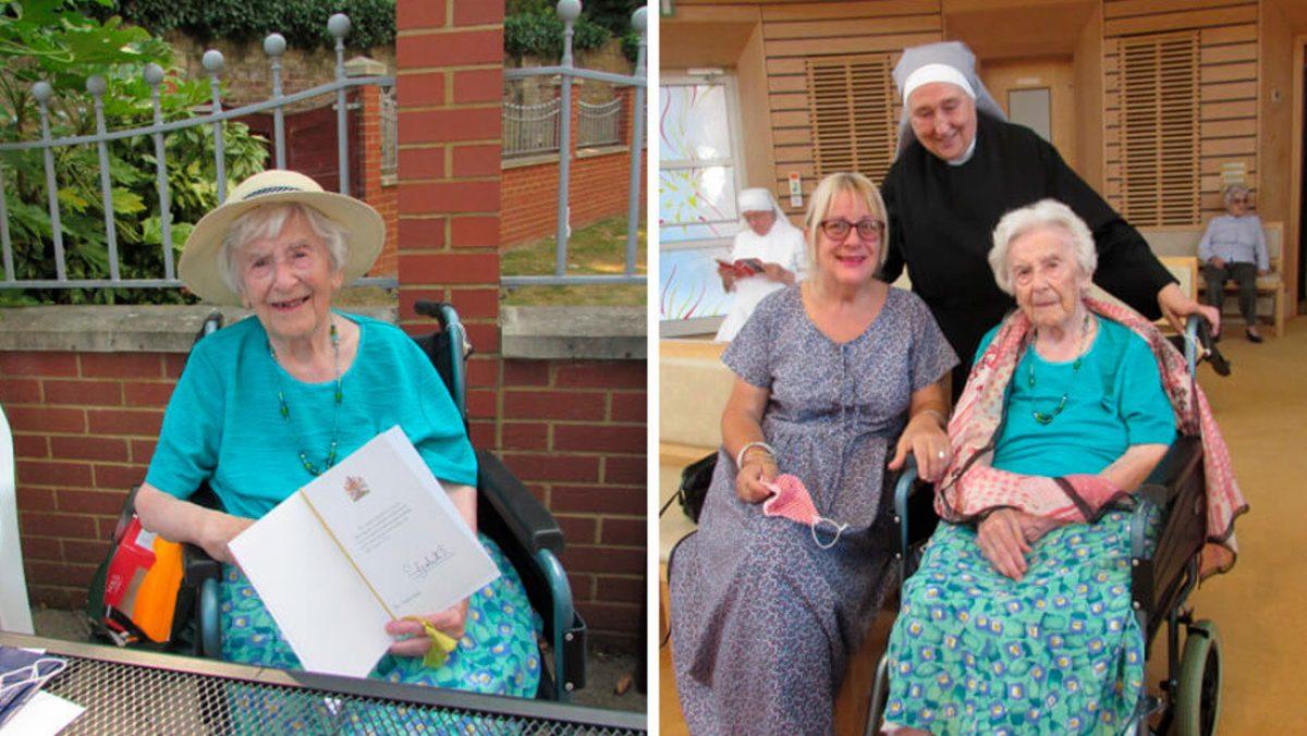 Mujer de 107 años ha sobrevivido a dos guerras mundiales, a la gripe española y al coronavirus