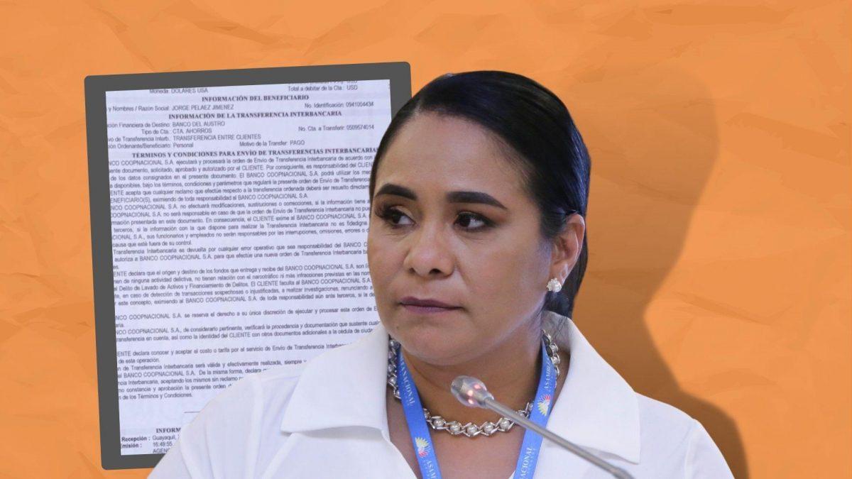 Asambleísta Bella Jiménez fue expulsada de la Izquierda Democrática
