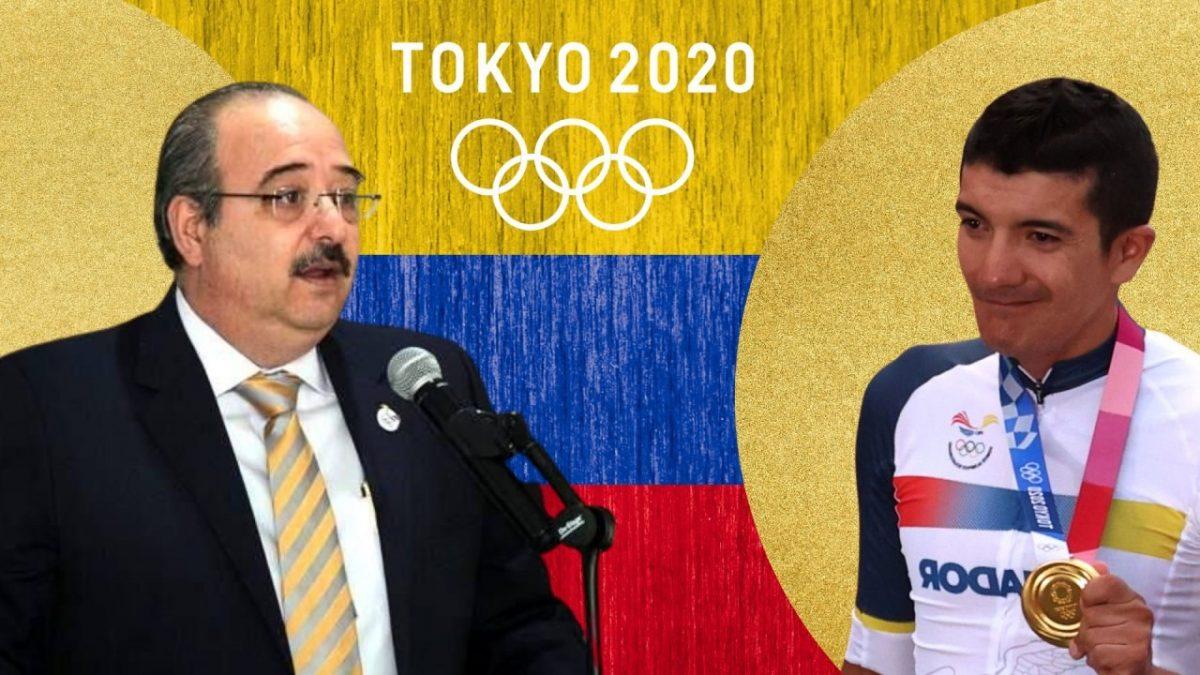 """Vicepresidente del COE sobre el apoyo a deportistas: """"estamos en Ecuador, no en Nueva Zelanda"""""""