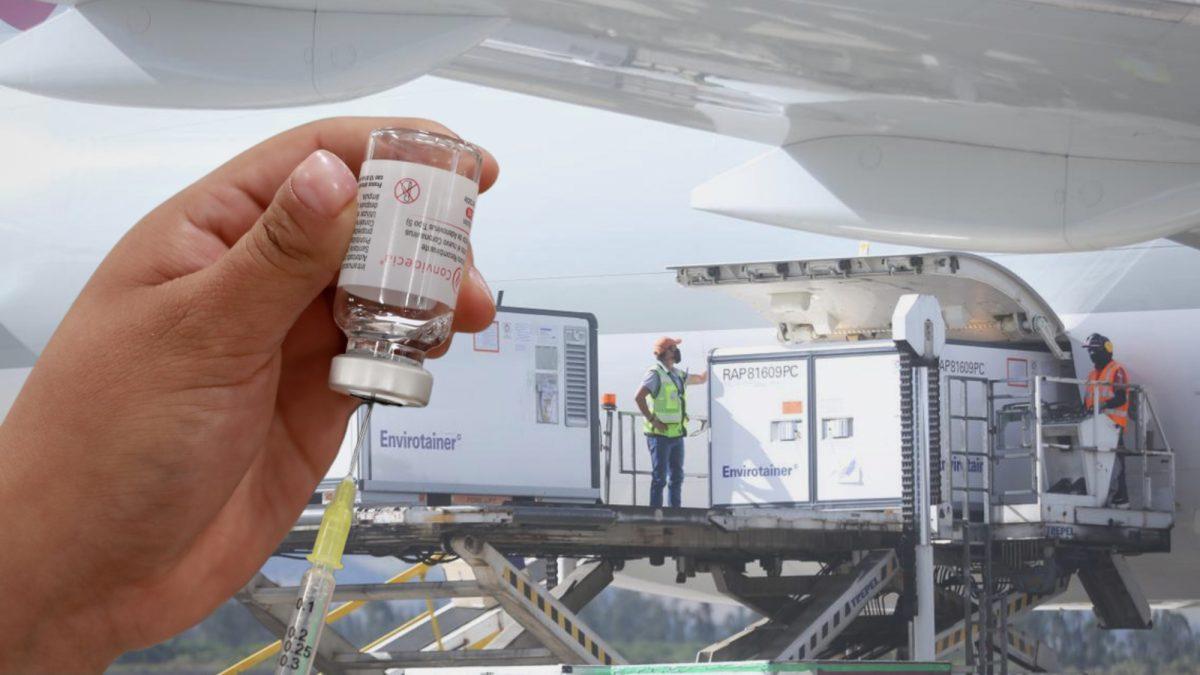 Ecuador recibe cargamento con 200.000 dosis de vacunas CanSino