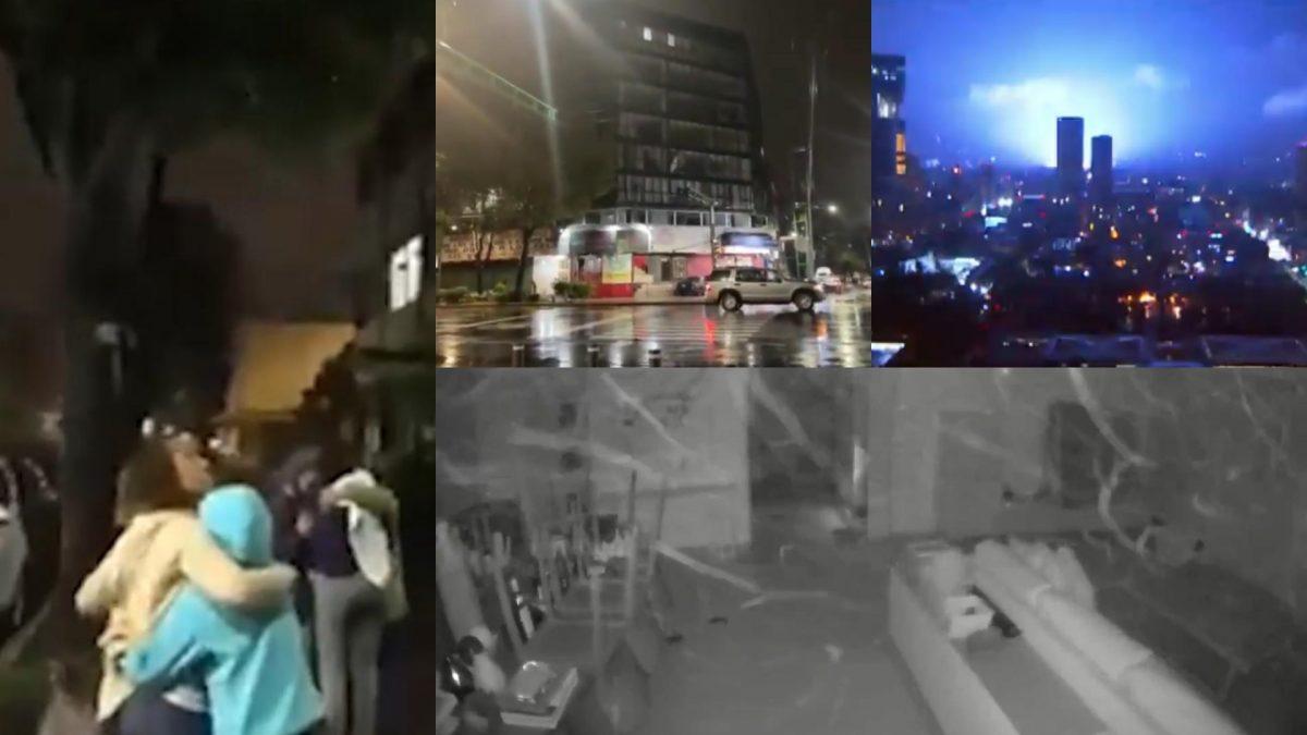 Terremoto en México: los impactantes videos del sismo