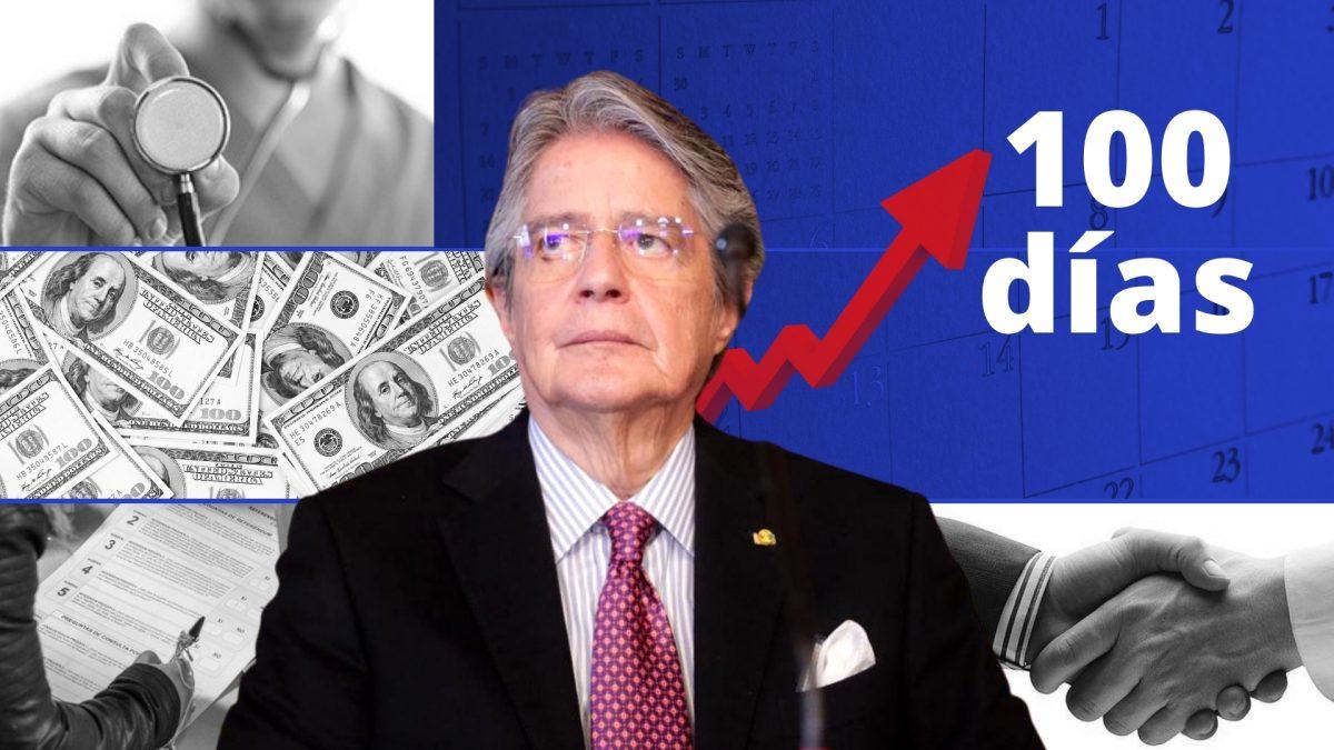 100 días de Gobierno: estos son los desafíos de Guillermo Lasso