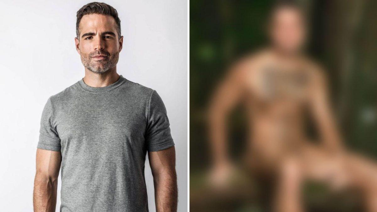 Roberto Manrique posó desnudo para una portada: esta es su causa