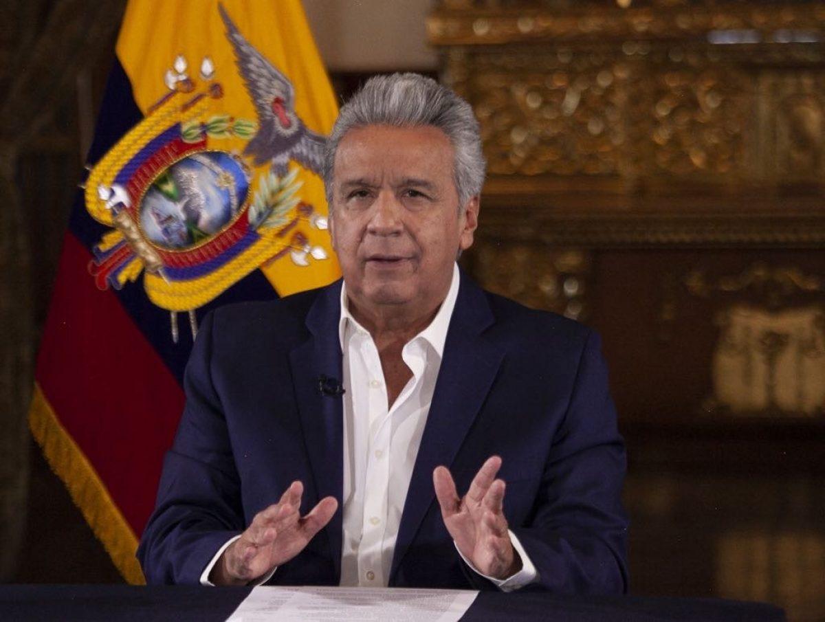 Mediante decretos ejecutivos, el presidente Lenín Moreno confirmó nuevas disposiciones del Gobierno Nacional