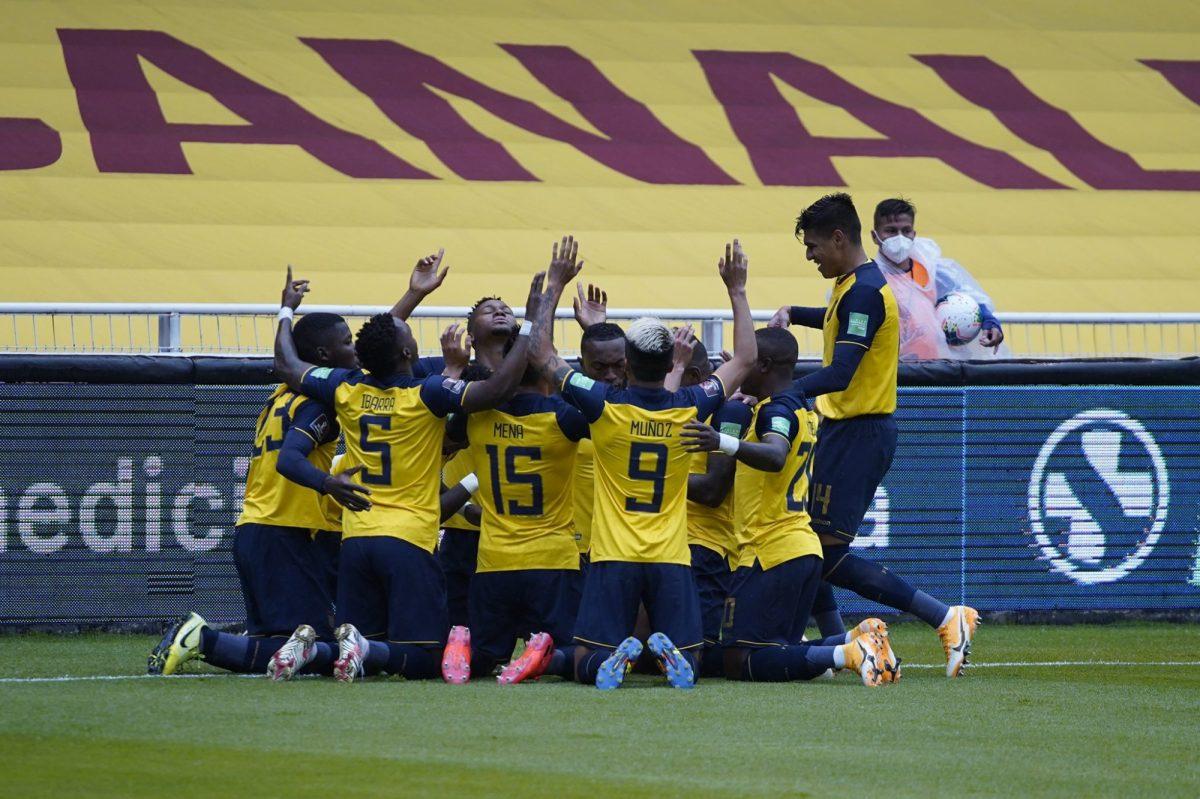 EN VIVO   Ecuador golea a Colombia en el primer tiempo