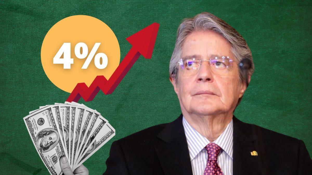 Presidente Lasso habla de impuestos focalizados para el 4% de la población
