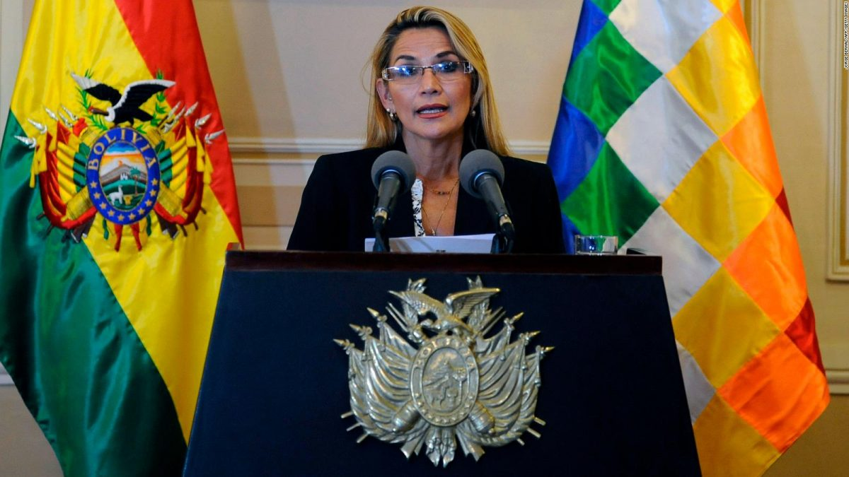 Detenida la expresidenta boliviana Áñez por la caída de Evo Morales