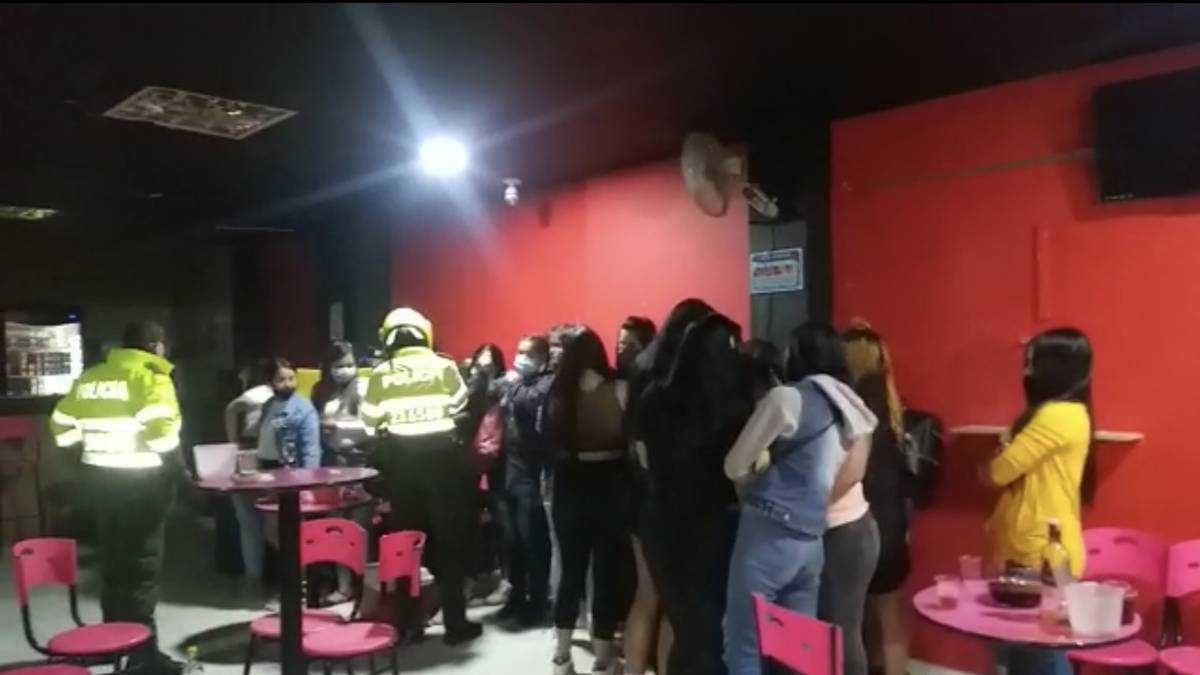 Autoridades de Colombia expulsarían a los ciudadanos extranjeros encontrados en fiestas clandestinas