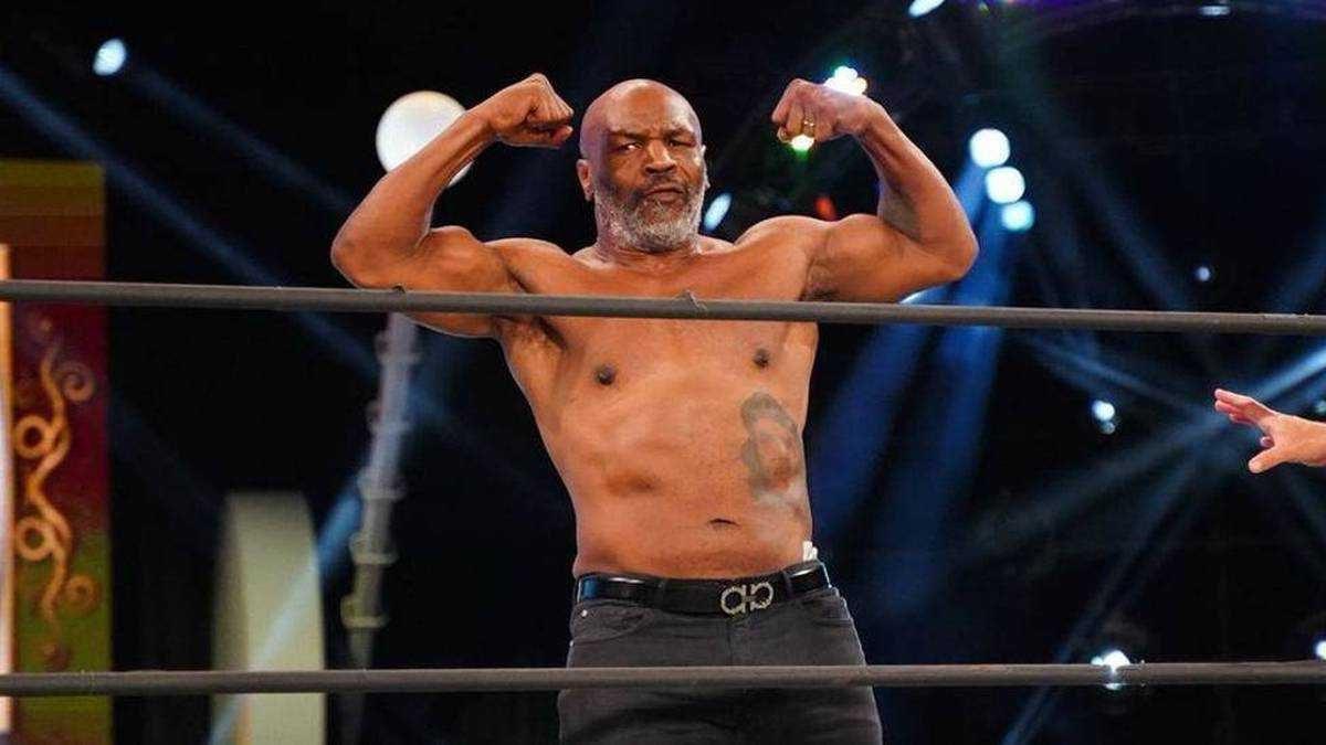 Sorprendente físico de Mike Tyson previo a su regreso a los cuadriláteros