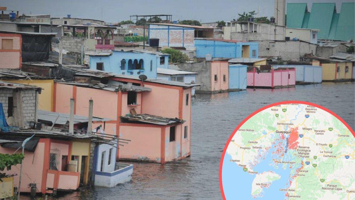 Zonas costeras de Ecuador en riesgo de desaparecer en 2050, según estudio
