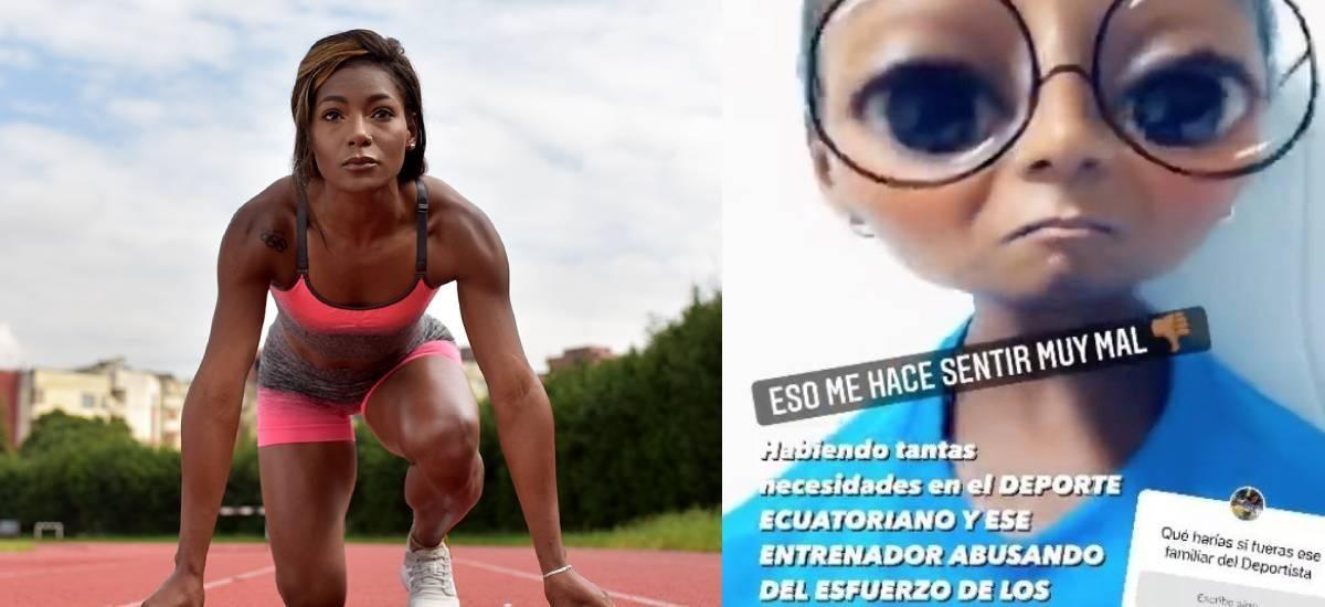 Atleta de Ecuador denuncia a entrenador tricolor en Tokio