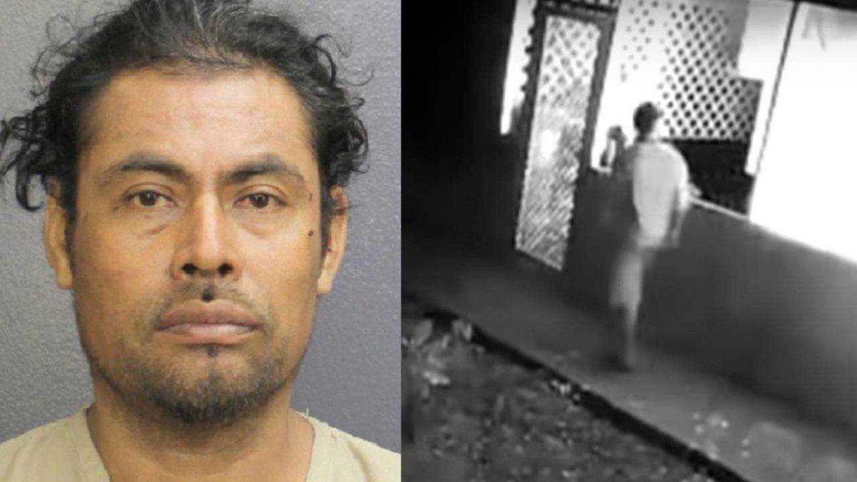 VIDEO | Cámaras de seguridad grabaron cuando un sujeto prendió fuego a su pareja
