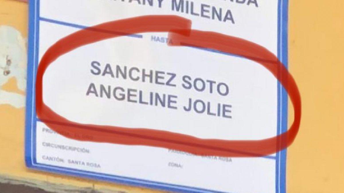 Angelina Jolie fue parte de las elecciones 2021